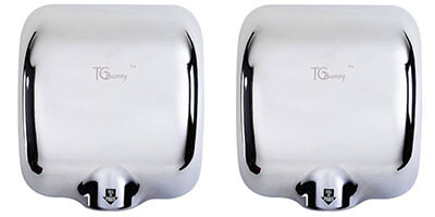 TCBunny 2 Pack Hot Hand Dryer
