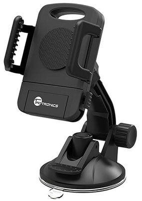 TaoTronics Car Phone Mount Holder, Windshield / Dashboard Universal Car Mobile Phone cradle