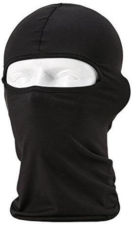 Sunland Lycra Fabrics Winter Face Mask