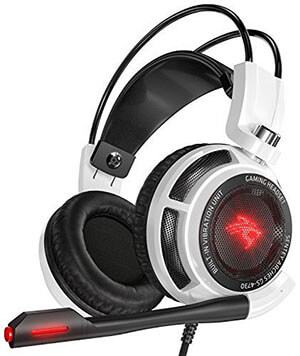 Sentey GS-4731 Virtual 7.1 USB DAC Arches with Vibration Intelligent 4d Extreme Bass Gaming Headphone