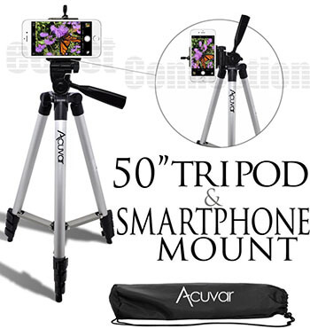Acuvar 50INTRIPOD Cell Phone Tripod
