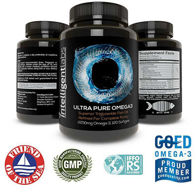 Intelligent Labs Omega 3 Fish Oil