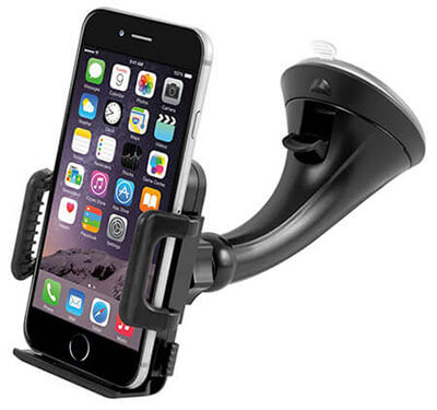 Car Mount Holder, Getron Windshield Dashboard Universal Car Mobile Phone Cradle