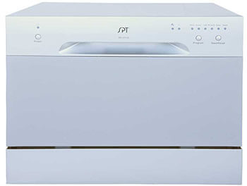 SPT SD-2213S Silver Countertop Dishwasher