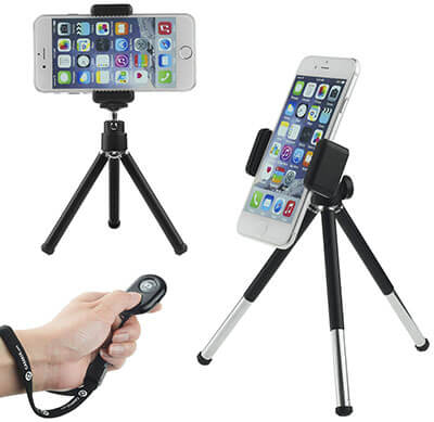 CamKix Universal Tripod with Bluetooth Remote