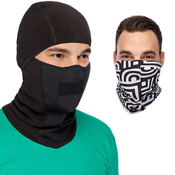 Cozia Design MaxPro Windproof Face Mask