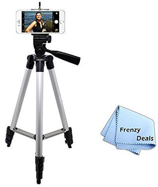 "FrenzyDeals 50"" Tripod for Smartphone"