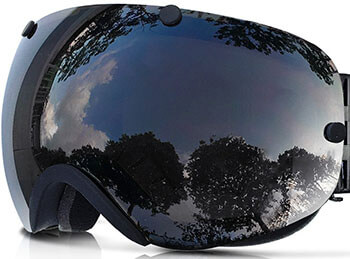 Zionor Snowboard Ski Goggles (with Detachable Lens)