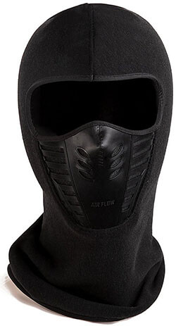 Zerdocean Winter Fleece Windproof Ski Mask