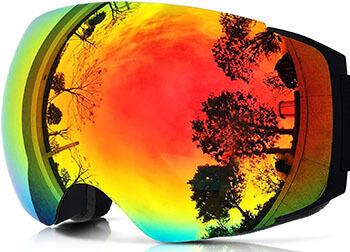 ZIONOR Lagopus X4 Ski Snowboard Snowmobile Goggles