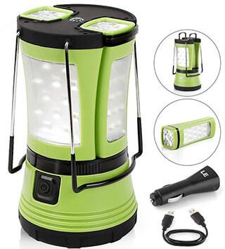 LE 600lm Rechargeable Camp Lantern LED