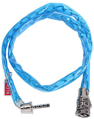 OUTERDO Security Bicycle Chain Lock 4-Digit Combination