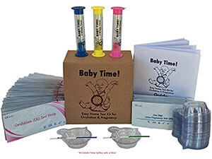 Baby Time! Easy Home Test Kit for Ovulation