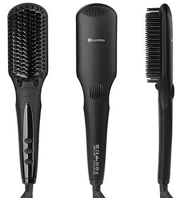 BearMoo Hair Straightening Brush