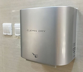 Silver Automatic Hand Dryer