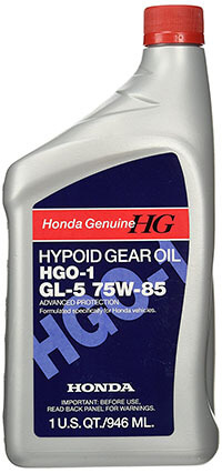 Genuine Honda Hgo-1 GI-5 Hypoid Gear Oil