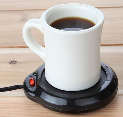 Home-X Black Mug Warmer