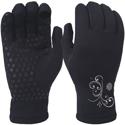TrailHeads Power Stretch Running Gloves for Women