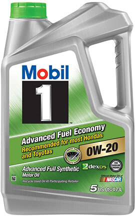Mobil 1 120758 Synthetic Motor Oil 0W-20