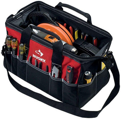 Husky Electrician Tool Bag