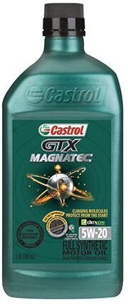 Castrol GTX 06007-6PK Magnatec 5W-20 Motor Oil