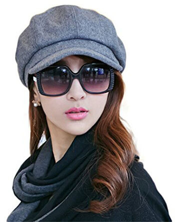 Siggi Visor Beret Newsboy Hat for Women