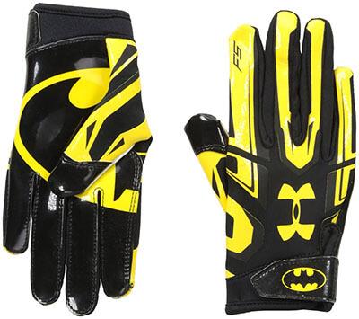 Under Armour Alter Ego Batman Boys' F5 Gloves Football