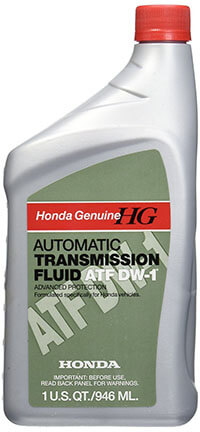 Honda DW-1 Automatic Transmission Fluid