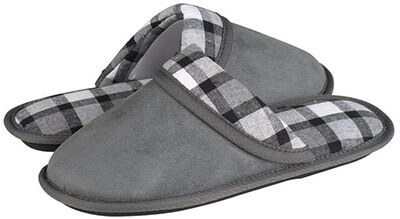 HomeTop Slip-On House Slippers for Women