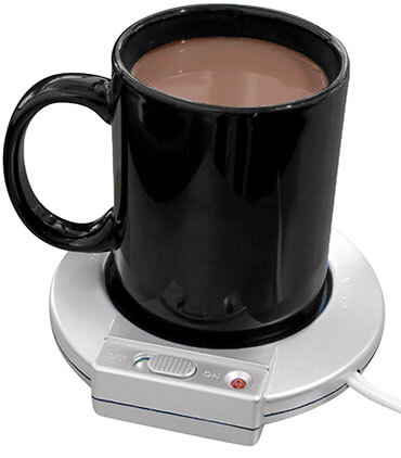 Evelots 1 or 6 Mug Warmer Electric Beverage Heater