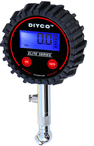 DIYCO Elite Series Digital Tire Pressure Gauge