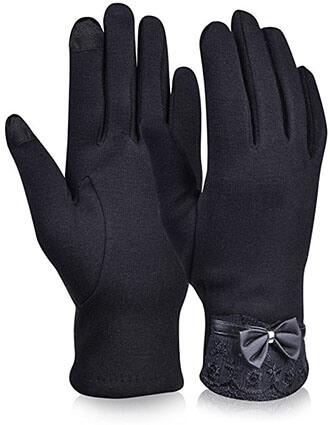 Vbiger Thick Womens Winter Gloves
