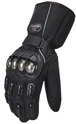 ILM XL Black Motorcycle Riding Winter Gloves