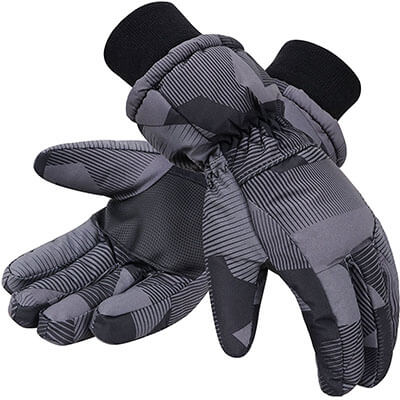 Simplicity 3M Thinsulate Men's Ski Gloves