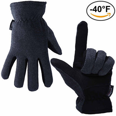OZERO Cold Proof Thermal Gloves
