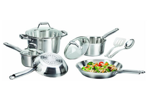 Top 10 Best Stainless Steel Cookware Set in 2019 Reviews