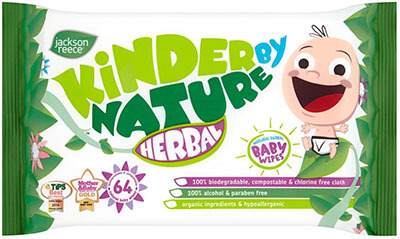 Jackson Reece All-Natural Herbal Baby Wipes