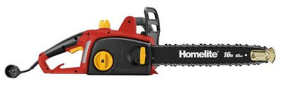 Homelite ZR43120 Electric Chainsaw with Automatic Oiler