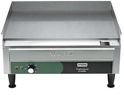 Waring Commercial WGR240X Small Electric Griddle