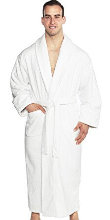 Turkishtowels Turkish Cotton Terry bathrobe