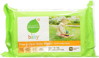 Seventh Generation Original Clear Baby Wipes