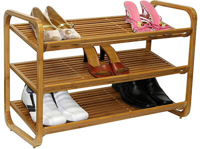 Oceanstar SR1231 Bamboo Shoe Storage Solutions