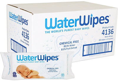 WaterWipes Natural Chemical-Free Wet Wipes