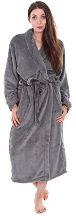 Simplicity Men and Women Bathrobe Kimono Style
