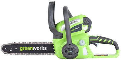 GreenWorks 20262 G-MAX 40V Cordless Chainsaw 12-Inch