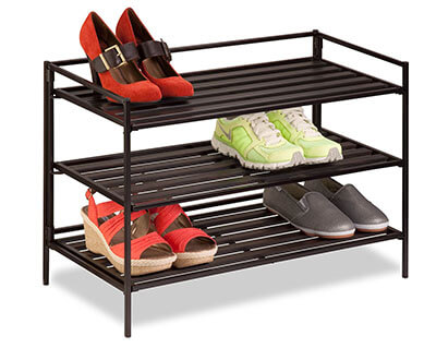 Honey-Can-Do SHO-03012 Stackable Best Shoe Rack