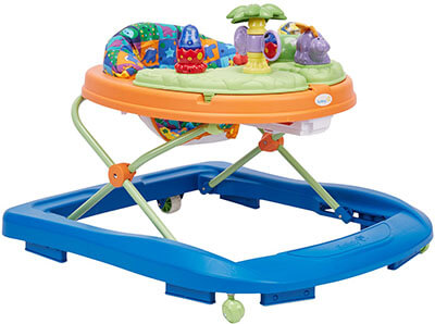 Safety 1st Sounds 'n Lights Dino Discovery Walker