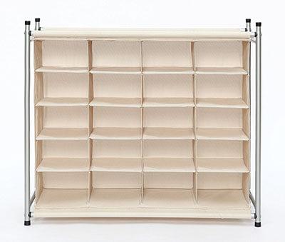 StorageManiac Free Standing Shoe Storage Cabinet