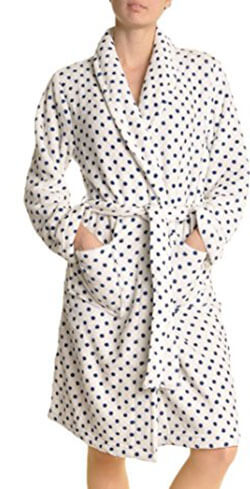 Angelina Premium Micro-Fleece Women's Bathrobe
