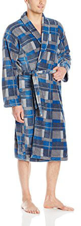 Essentials by Seven Apparel Men's Bathrobe